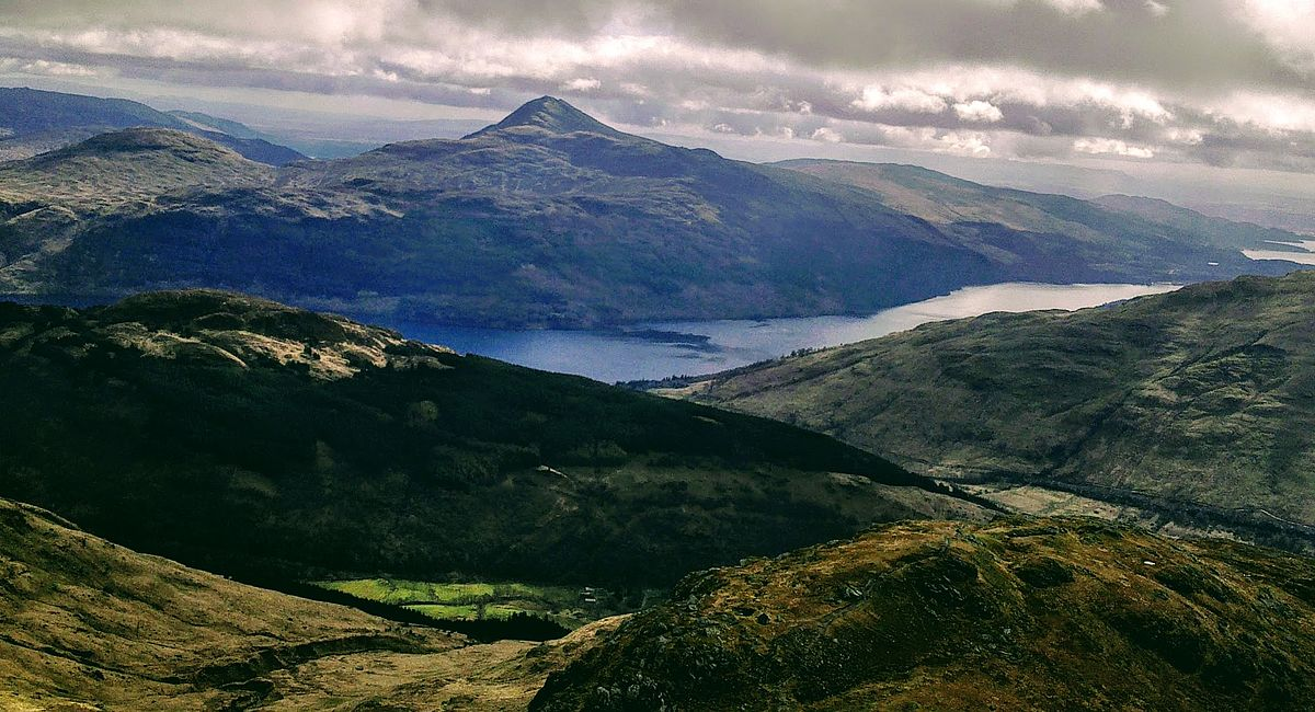 Mountain and loch view