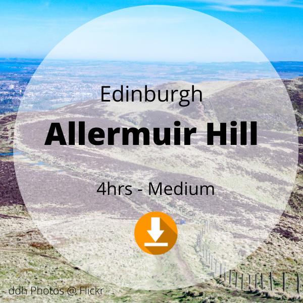 Edinburgh - Allermuir Hill - 4 hrs - Medium
