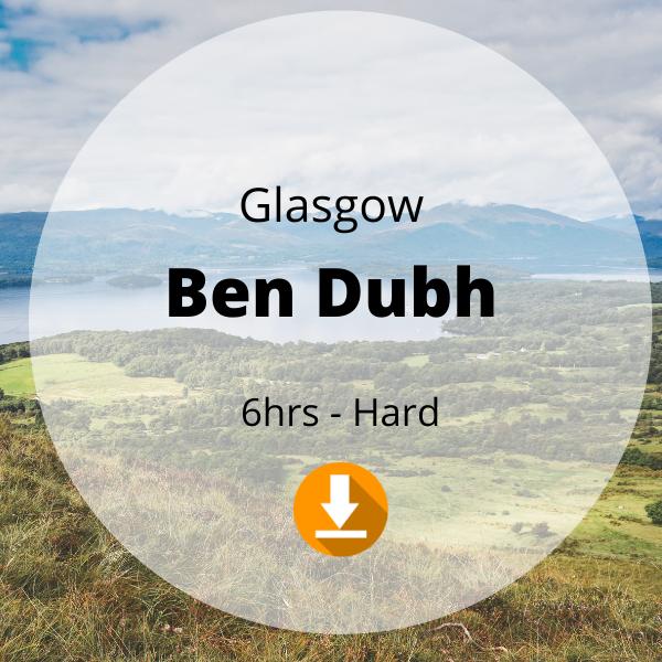 Glasgow - Ben Dubh - 6 hrs - Hard