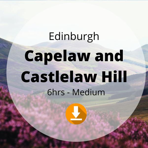 Edinburgh - Capelaw and Castlelaw Hill - 6hrs - Medium