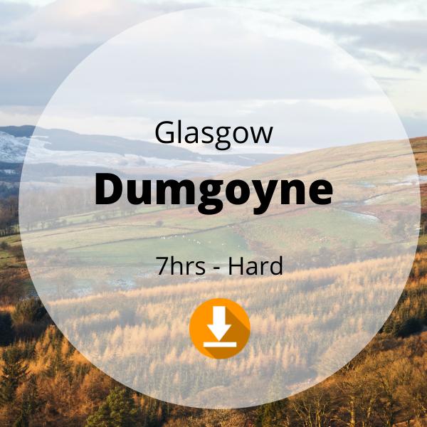 Glasgow - Dumgoyne - 7hrs - Hard